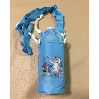 ディズニー(Disney)の【スティッチ&エンジェル】 ペットボトルホルダー ペットボトルケース(弁当用品)