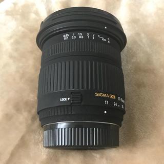 シグマ(SIGMA)のSIGMA 17-70mm F2.8-4.5 DC Nikon(レンズ(ズーム))