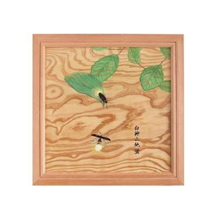オリジナル(Original)の根杢浮作り絵画 「白神の四季:ジボタル」(アート/写真)