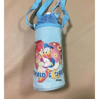 ディズニー(Disney)の【ドナルド&デイジー】ペットボトルホルダー ペットボトルケース(弁当用品)