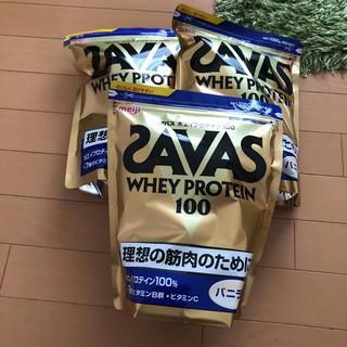 ザバス(SAVAS)のザバス プロテイン バニラ3袋(プロテイン)