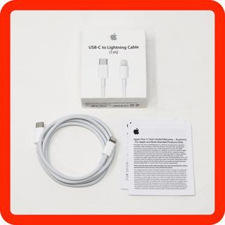 アップル(Apple)の美品 Apple純正 USB-C to Lightningケーブル 1m(その他)