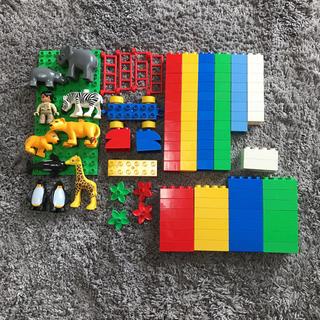 レゴ(Lego)のLEGO 楽しいどうぶつえん 箱なし(積み木/ブロック)