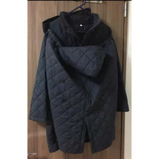 ムジルシリョウヒン(MUJI (無印良品))のマタニティキルティングコート/ママコート 無印いっしょに羽織れるコート(マタニティアウター)