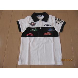 mikihouse - ☆タグ付き☆ミキハウス ブラックベアのレーシングポロシャツ(100cm)