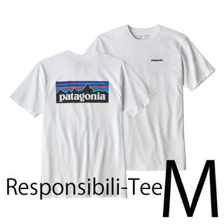 patagonia - 即日発送 M パタゴニア 日本サイズL P6 ロゴ Tシャツ白2018春夏/新作