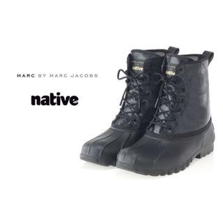 マークジェイコブス(MARC JACOBS)の希少品!MARC JACOBS native jimmy boot レインブーツ(長靴/レインシューズ)