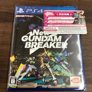PlayStation4 - 【即日発送!】NEWガンダムブレイカー 通常版