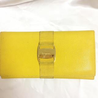 サルヴァトーレフェラガモ(Salvatore Ferragamo)の値下げ‼️ 本物‼︎フェラガモ 長財布 イタリア製 ヴァラ(財布)