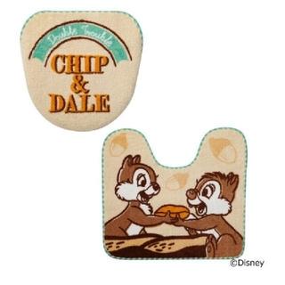 ディズニー(Disney)のチップ&デール💖トイレタリー セット💖 マットカバー(トイレマット)