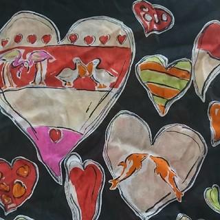 サルヴァトーレフェラガモ(Salvatore Ferragamo)のフェラガモSalvatoreFerragamoシルクスカーフ(バンダナ/スカーフ)
