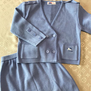 クレージュ(Courreges)のクレージュ  ♡  ジャケット&スカート  120(その他)