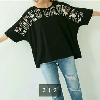 RODEO CROWNS WIDE BOWL - 新品ロデオクラウンズ ドルマンTシャツ