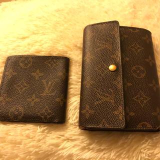 ルイヴィトン(LOUIS VUITTON)のビィトン☆財布&札・カード入れSET(財布)