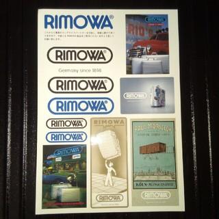 リモワ(RIMOWA)のRIMOWA シール(旅行用品)