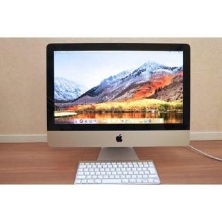 アップル(Apple)のiMac21.5FusionDriveBootcampWIN完全SSD内導入(デスクトップ型PC)
