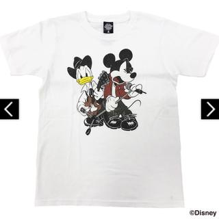 ディズニー(Disney)の【新品未開封】B'z × Disney 親子TシャツB(白) Mサイズ(ミュージシャン)