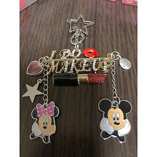 ディズニー(Disney)のmickey♥Minnie♥バックチャーム!キーホルダー!(キーホルダー/ストラップ)
