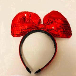 ディズニー(Disney)のディズニー ミニーちゃんカチューシャ (カチューシャ)