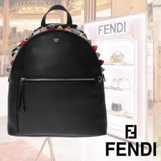 フェンディ(FENDI)の新品‼️FENDI スタッズ付きバックパック(リュック/バックパック)