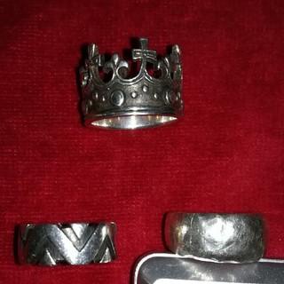 シルバー925リング 3個セット(リング(指輪))