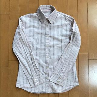 アーベーセーアンフェイス(abc une face)のストライプシャツ (シャツ/ブラウス(長袖/七分))