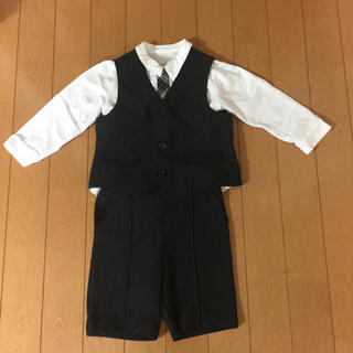 コムサデモード(COMME CA DU MODE)の男児 90サイズ フォーマル3点セット(ドレス/フォーマル)