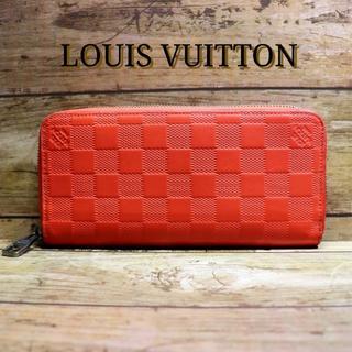 ルイヴィトン(LOUIS VUITTON)の【超美品】LOUIS VUITTON ルイヴィトン 長財布 オレンジ ジッピー(財布)