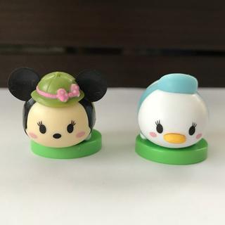 ディズニー(Disney)のディズニー ツムツム チョコエッグ☆ミニー&デイジー(フィギュア)