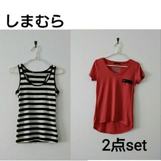 シマムラ(しまむら)の2点セット(Tシャツ(半袖/袖なし))