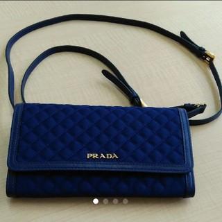 プラダ(PRADA)のPRADA プラダ 新品未使用 ショルダーバッグ 型 財布 クラッチバッグ (財布)
