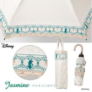 ディズニー(Disney)のディズニー 刺繍折りたたみ傘 日傘 サマンサタバサ ストロベリーフィールド(傘)