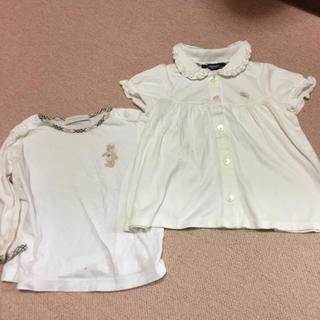 バーバリー(BURBERRY)のバーバリーロンドン Tシャツ80cm(Tシャツ)