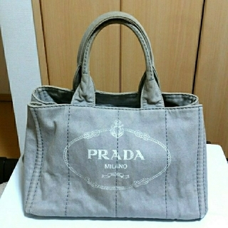 PRADA - PRADA デニム カナパ トートバッグ