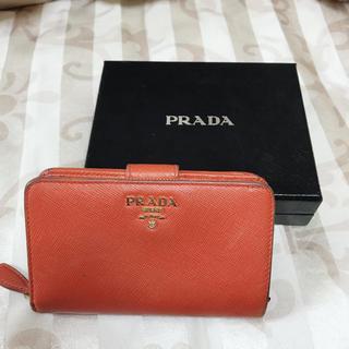 プラダ(PRADA)のPRADA サフィアーノ 二つ折り財布(財布)
