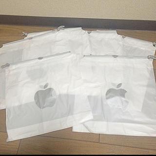 マック(Mac (Apple))のApple Store Mac ショップ袋 ラッピング袋 5枚セット(ショップ袋)