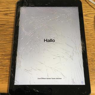 アップル(Apple)のジャンク品iPad AIR Wi-Fi+Cellular 16GB ソフトバンク(タブレット)