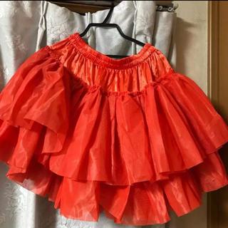 ボディライン(BODYLINE)のパニエ オレンジ(衣装)