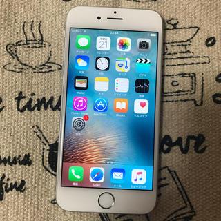 docomo iPhone6 64GB シルバー