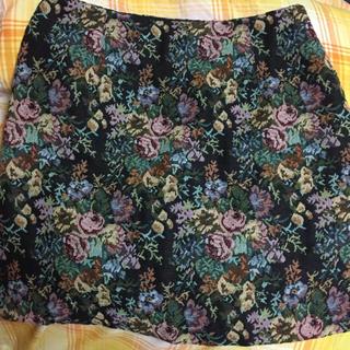 ジーユー(GU)のGU ゴブランスカート(ミニスカート)