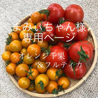 まみぃちゃん様 オレンジ千果&フルティカ 2キロ(野菜)