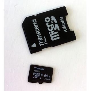 トウシバ(東芝)の中古☆TOSHIBA microSDXCカード(その他)