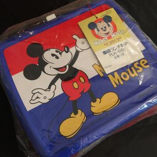 ディズニー(Disney)のディズニー・キャラクター ミッキー&ミニー 象印ランチキット 水筒付 未使用品(弁当用品)