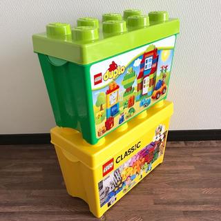 レゴ(Lego)のレゴ 収納ケース 2個セット(積み木/ブロック)