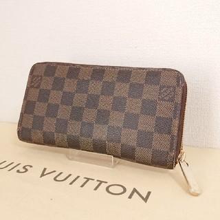 ルイヴィトン(LOUIS VUITTON)の正規品ルイヴィトン ダミエ ジッピーウォレット 長財布(財布)