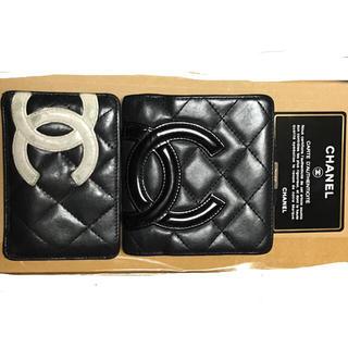 CHANEL - CHANEL シャネル カンボンライン がま口折り財布とカードケースのセット
