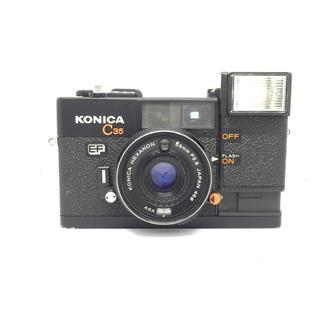 コニカミノルタ(KONICA MINOLTA)のkonica C35 ef フィルムカメラ(コンパクトデジタルカメラ)