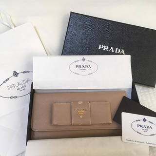 PRADA - プラダ サフィアーノ 長財布