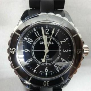 シャネル(CHANEL)のシャネルj12 ブラック(腕時計(アナログ))