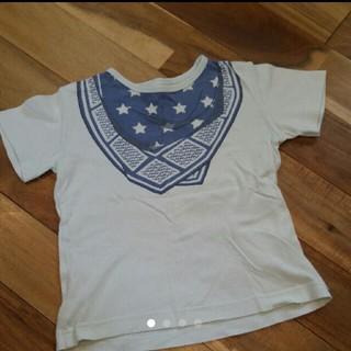 コンビミニ(Combi mini)のCombimini バンダナプリント size100 半袖カットソー(Tシャツ/カットソー)